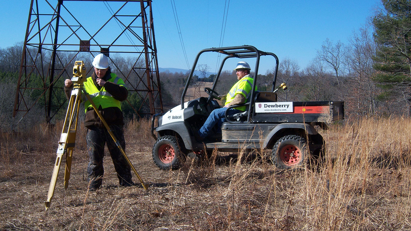 While our teams often encountered difficulty accessing points due to the challenging terrain, Dominion was able to begin power line structure construction within three weeks.