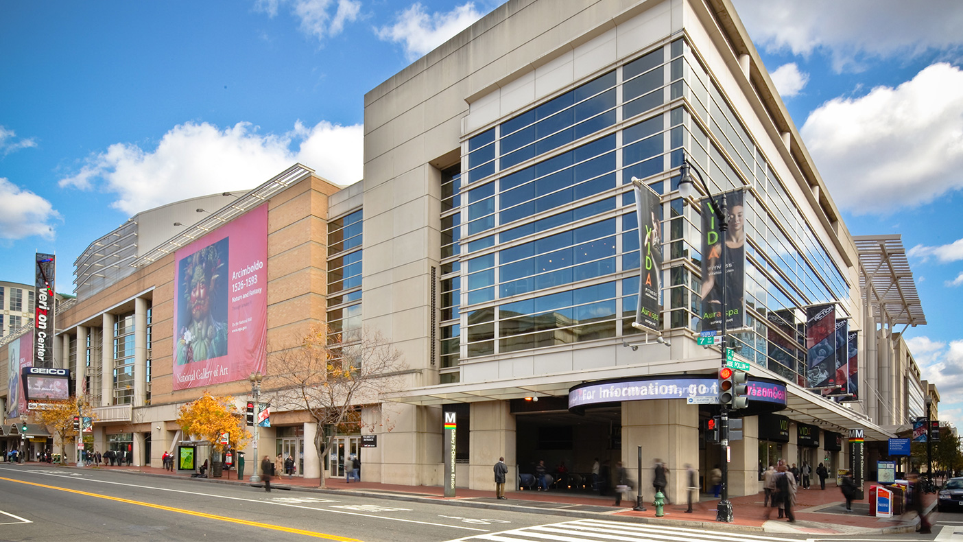 At the Verizon Center in D.C., we installed equipment on an existing catwalk above the arena and mounted LTE equipment and antennas. A four-day construction schedule was required to work around a busy season of activities at the arena.