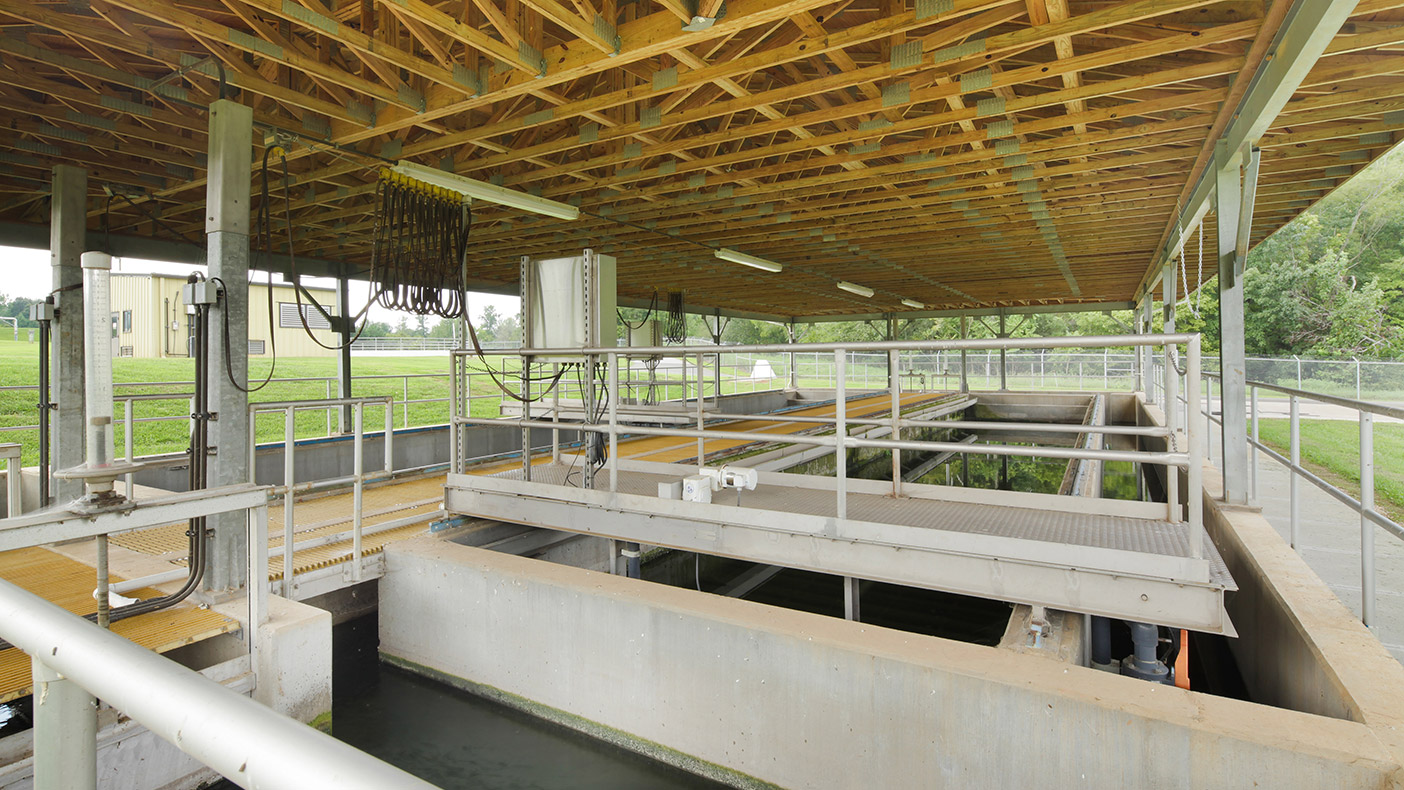 We designed additional sludge handling facilities in order to come into compliance with North Carolina Department of Natural Resources Division of Water Quality regulations.