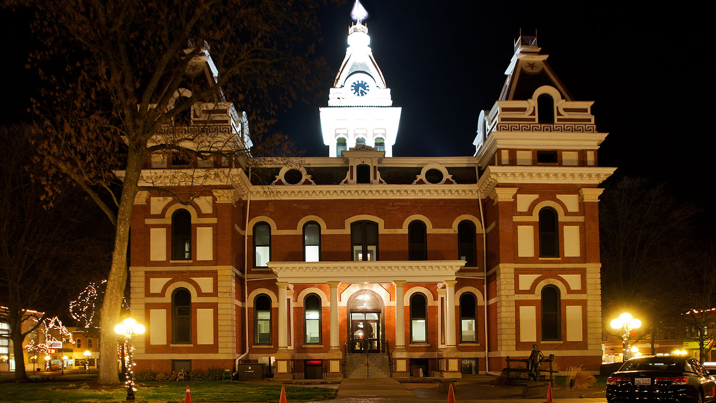"""""""The historic old courthouse should stand for well over a century, serving… generations to come."""" -Bill Flott, Chairman, Livingston County Board's Law and Justice Center Committee."""