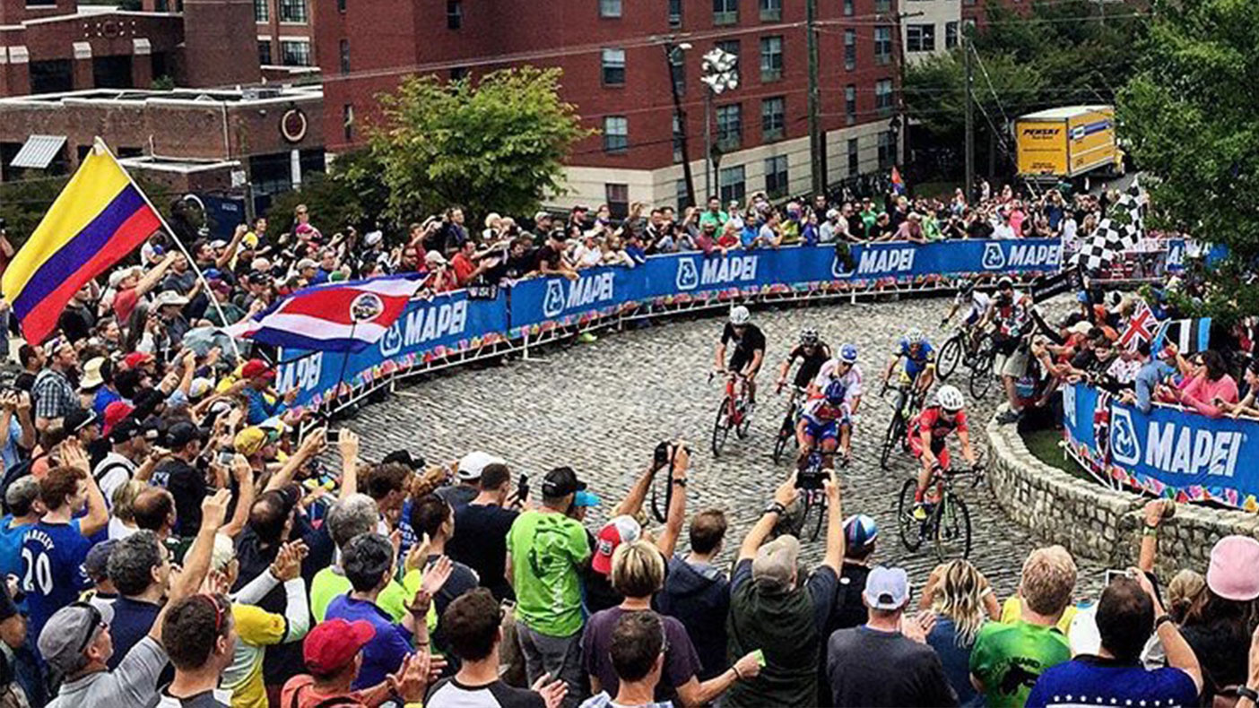 Richmond, Virginia, hosted nearly 500,000 spectators in 2015 for the Union Cycliste Internationale Road World Championship.