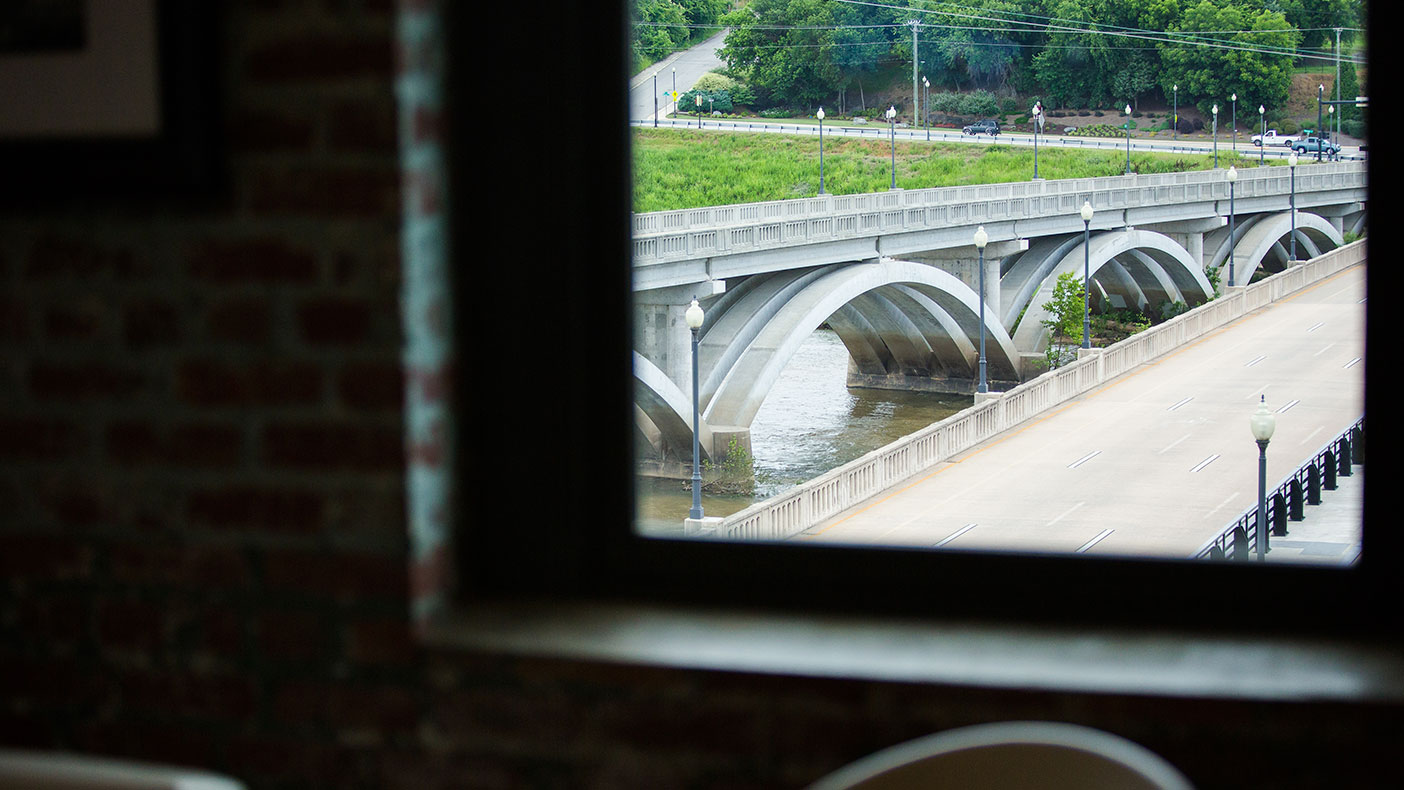 Prior to its renovation, the Dan River Research Building operated as a textile research mill that overlooked the Dan River. Through adaptive reuse, our architectural team was able to renovate the space to meet the needs of each tenant.