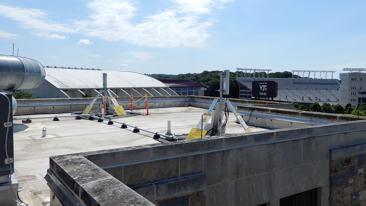 Combined, Cassell Coliseum and Lane Stadium seat approximately 75,600 people. This telecommunications system allows fans to utilize reliable cell coverage, even during peak usage times.