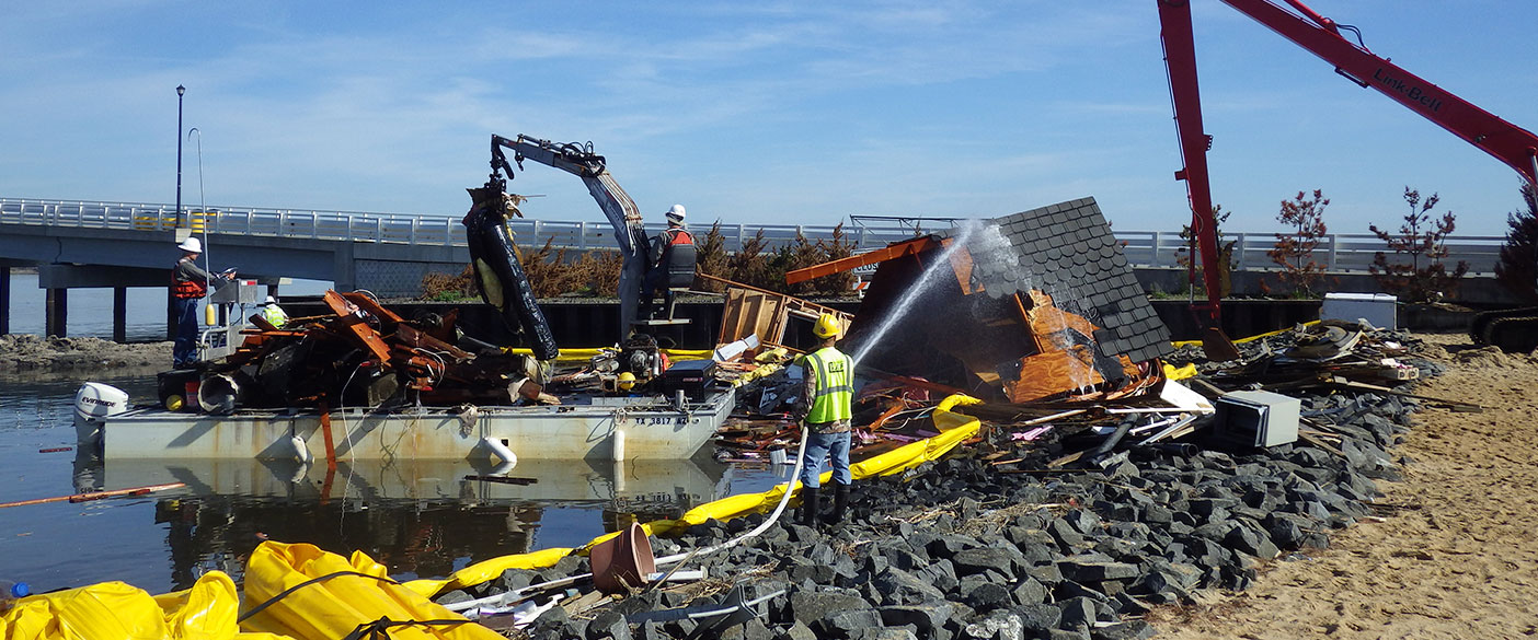 Recognized as the largest waterway debris removal in U.S. history, the program spanned more than 100,000 cubic miles of debris and 360,000 cubic yards of sediment.